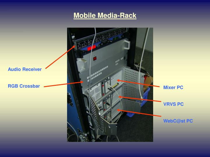 Mobile Media-Rack