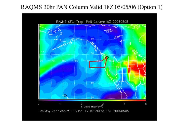 RAQMS 30hr PAN Column Valid 18Z 05/05/06 (Option 1)
