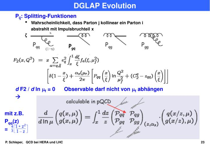 DGLAP Evolution