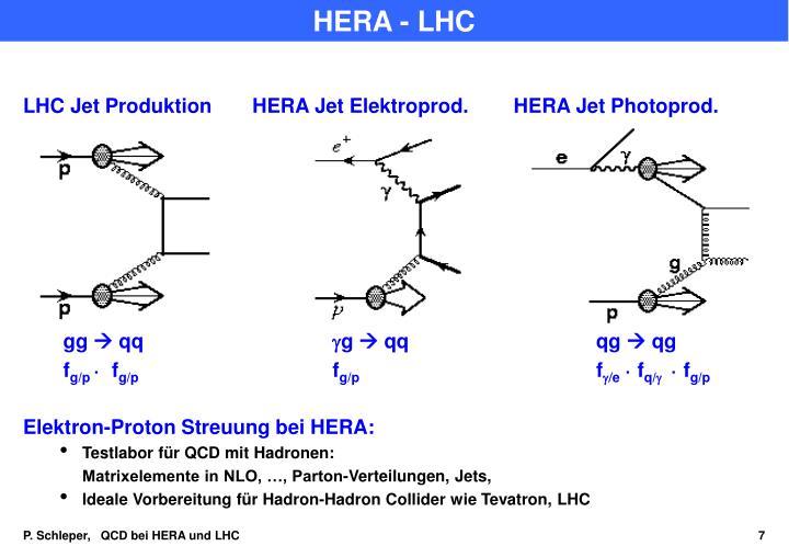 HERA - LHC