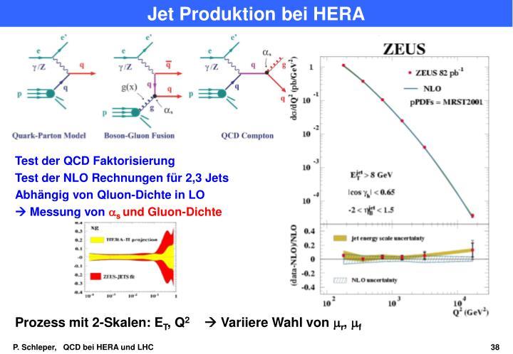 Jet Produktion bei HERA