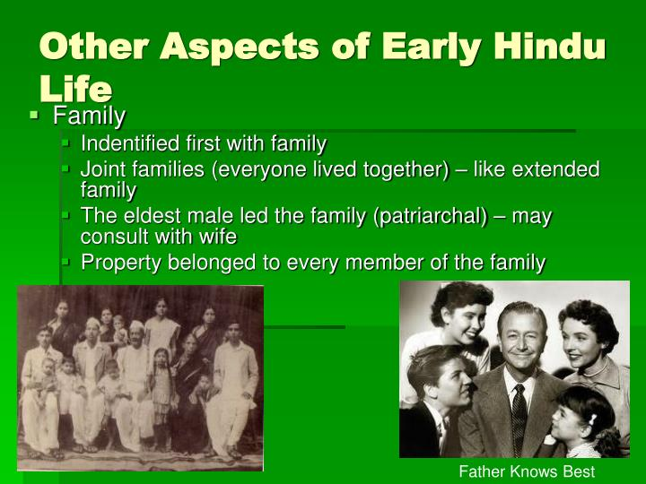 Other Aspects of Early Hindu Life