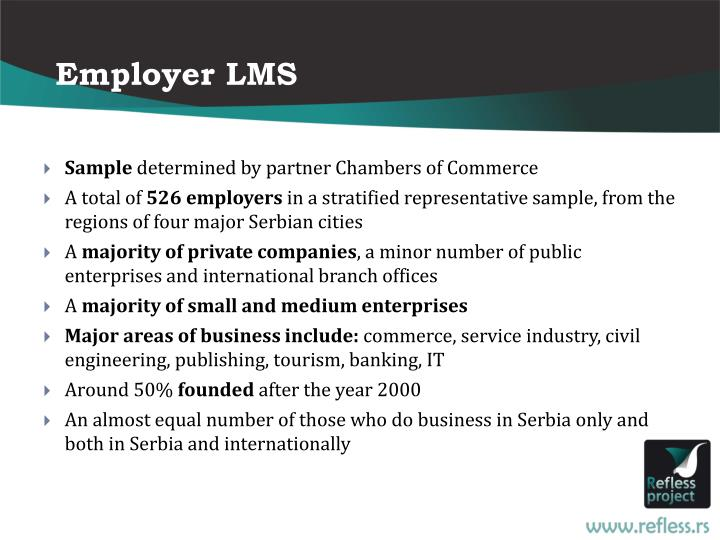 Employer LMS