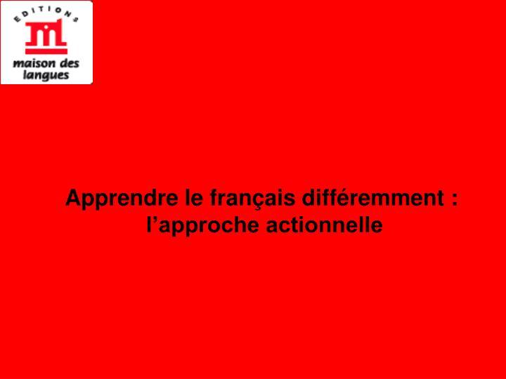 Apprendre le français diff