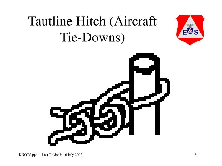 Tautline Hitch (Aircraft Tie-Downs)
