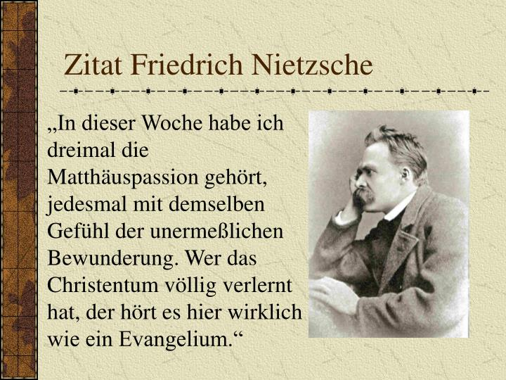 Zitat Friedrich Nietzsche
