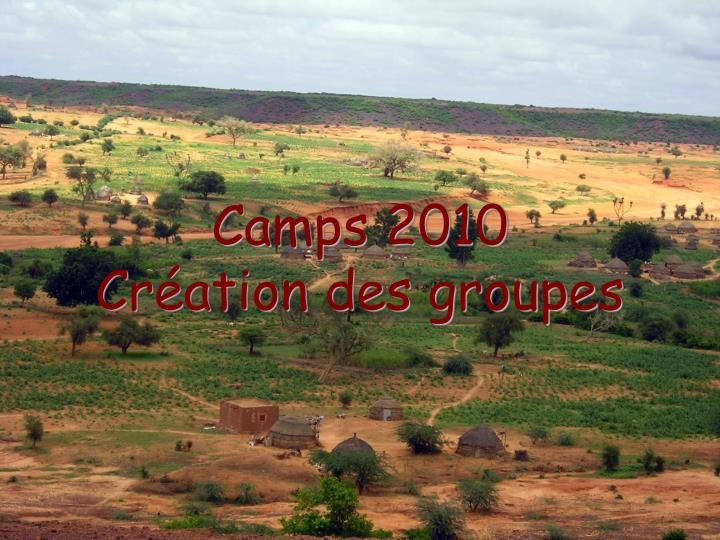 Camps 2010