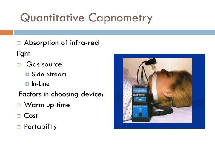 Quantitative Capnometry