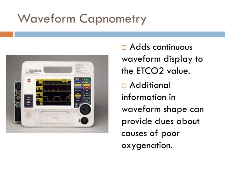 Waveform Capnometry