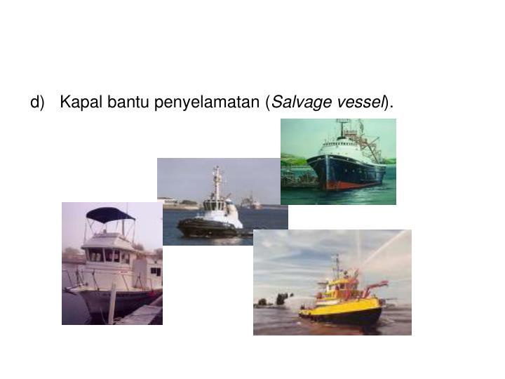 Kapal bantu penyelamatan (