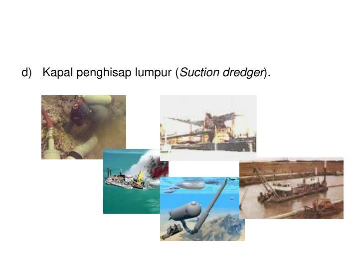 Kapal penghisap lumpur (