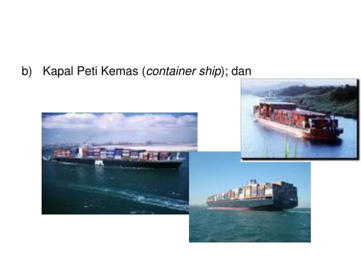 Kapal Peti Kemas (