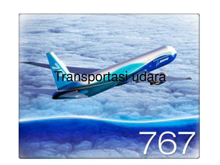 Transportasi udara