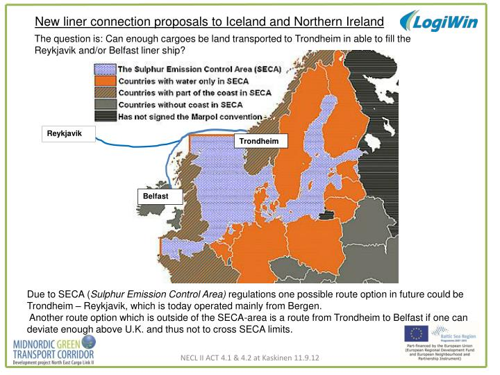 New liner connection proposals to Iceland and