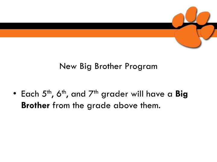 New Big Brother Program