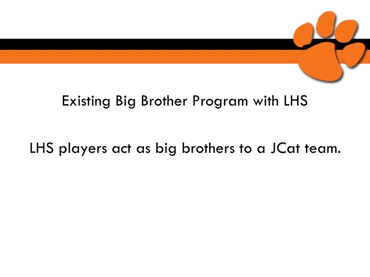 Existing Big Brother Program with LHS