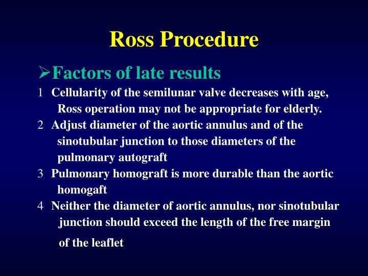 Ross Procedure