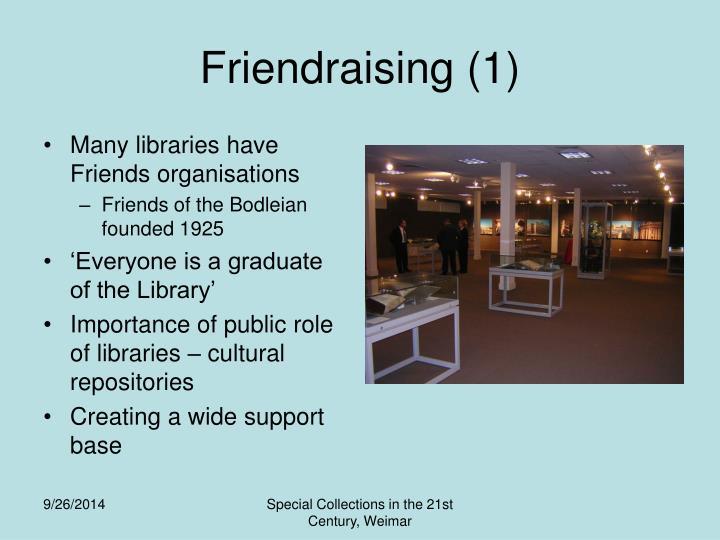 Friendraising (1)