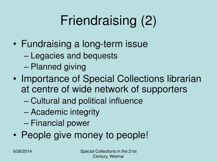 Friendraising (2)