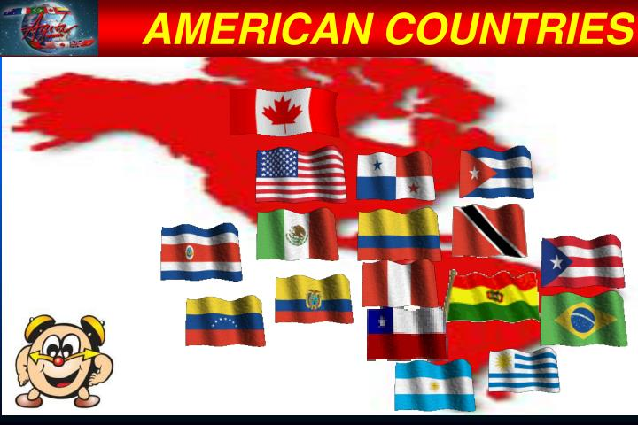 AMERICAN COUNTRIES