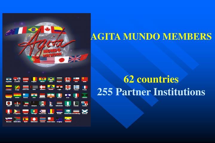AGITA MUNDO MEMBERS