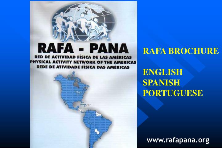 RAFA BROCHURE