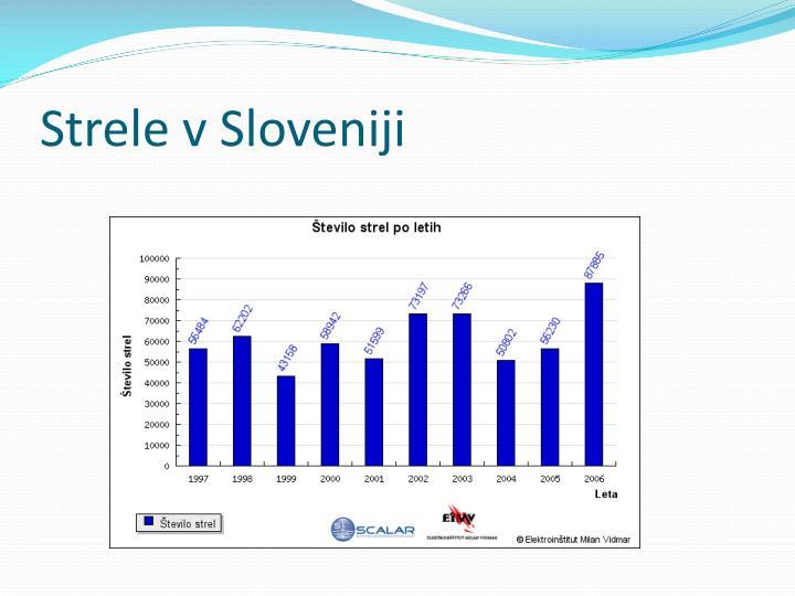 Strele v Sloveniji