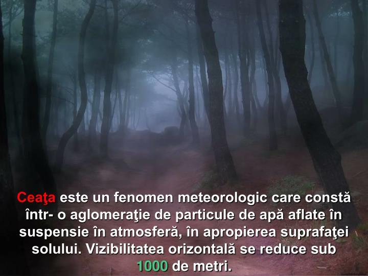 Ceaţa