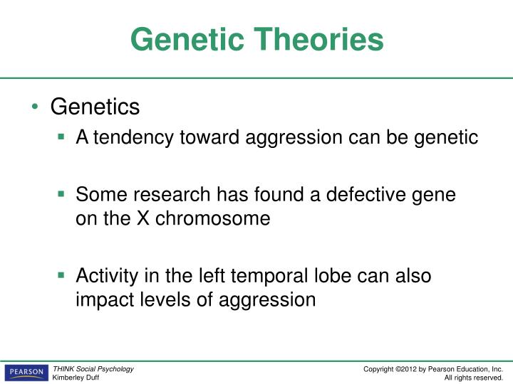 genetic theories of crime Criminological psychology biological theories of offending aidan sammons  psychlotronorguk biological theories of offending is there a gene for crime.