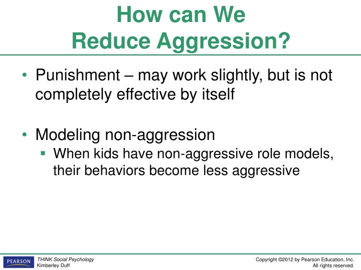 how can aggression be reduced essay Assertiveness can help you control stress and anger and if you communicate in a way that's too passive or too aggressive ease stress to reduce your.