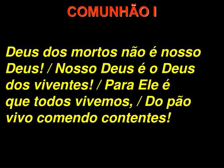 COMUNHÃO I
