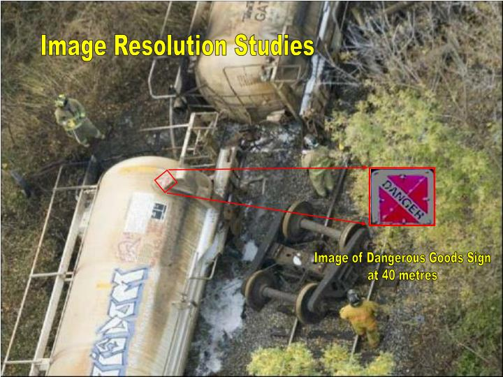 Image Resolution Studies
