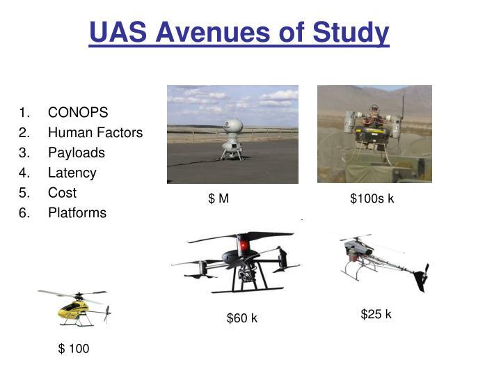 UAS Avenues of Study