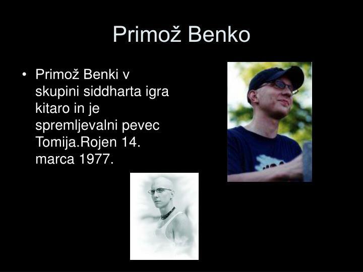Primož Benko