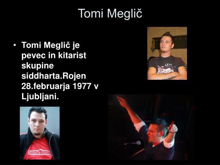 Tomi Meglič