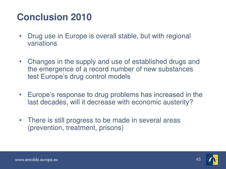Conclusion 2010