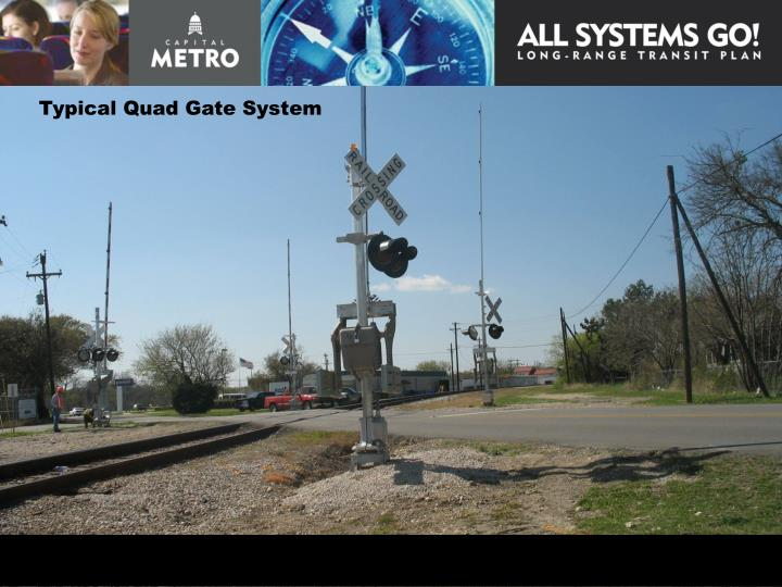 Typical Quad Gate System
