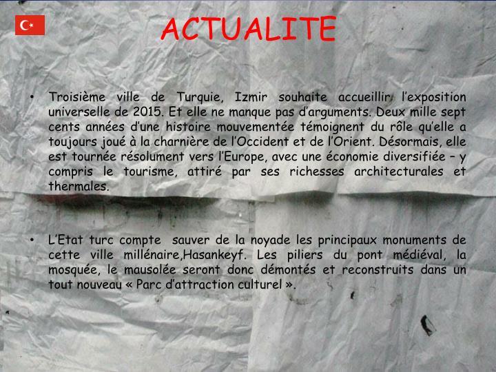 ACTUALITE