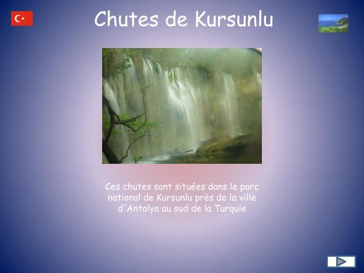 Chutes de Kursunlu