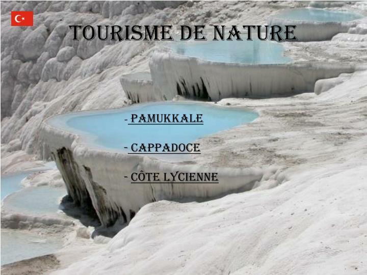 Tourisme de Nature