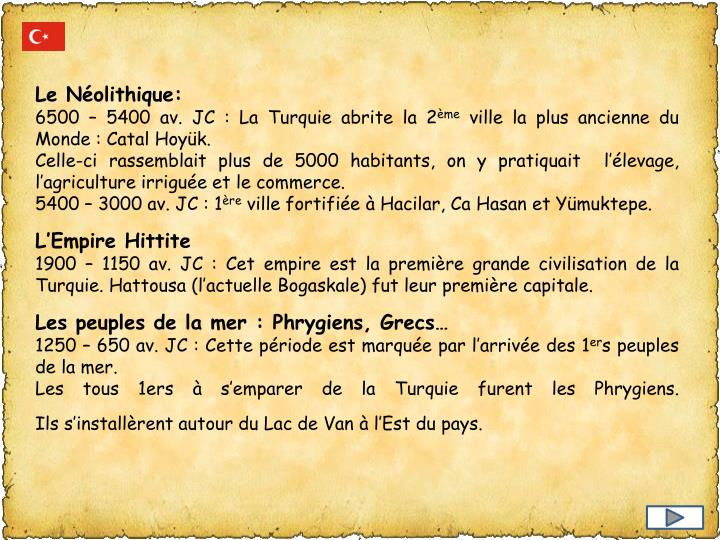 Le Néolithique: