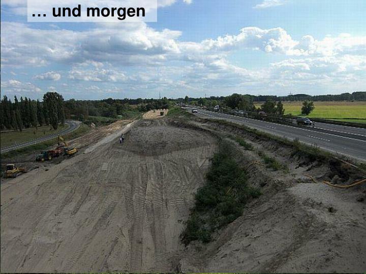 Wege in Seehausen/Hasenbüren heute …