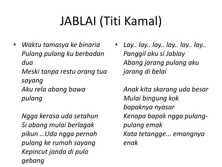 JABLAI (Titi Kamal)