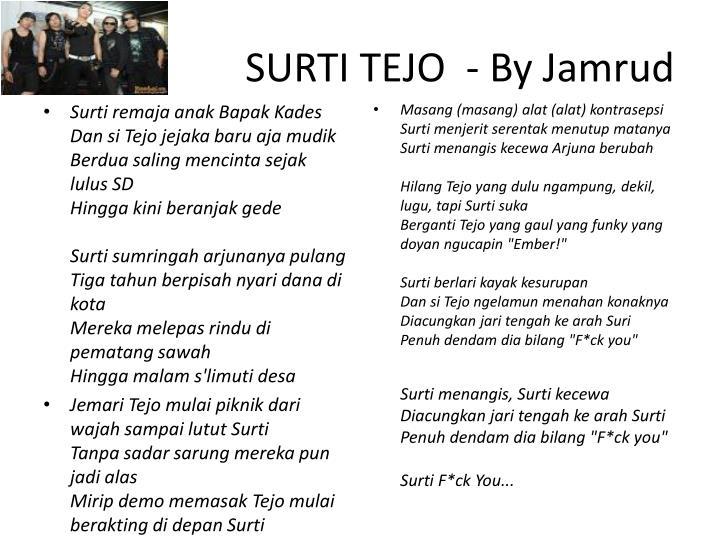 SURTI TEJO  - By Jamrud