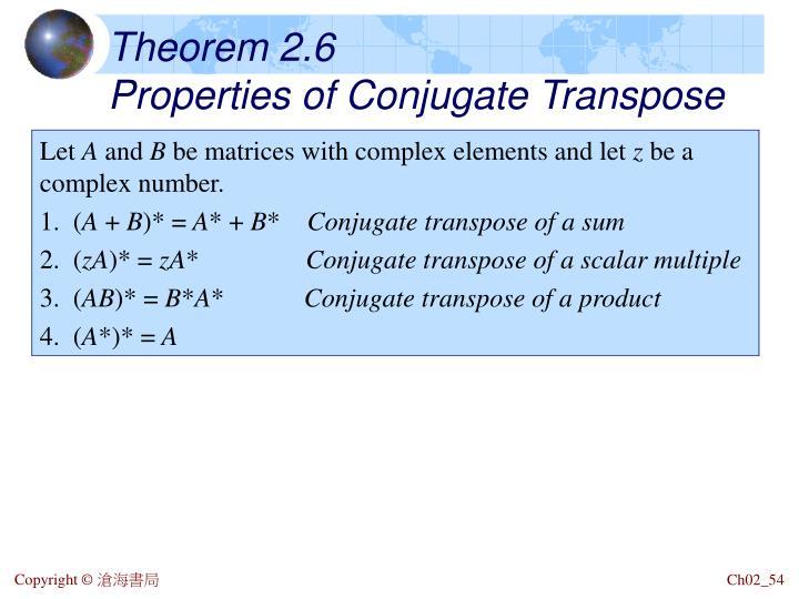 Theorem 2.6
