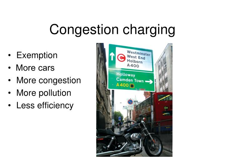 Congestion charging
