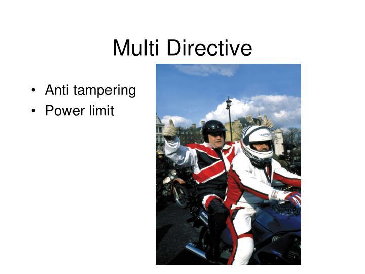 Multi Directive