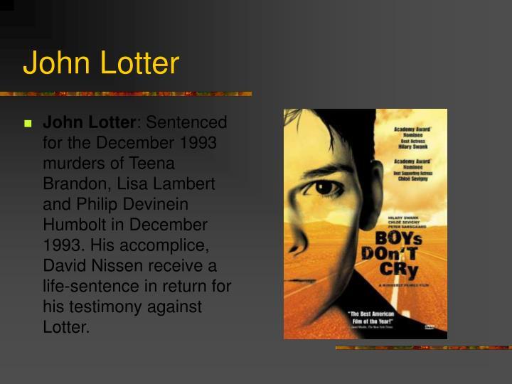 John Lotter