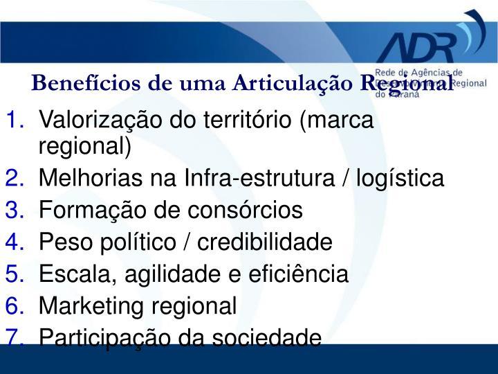 Valorização do território (marca regional)