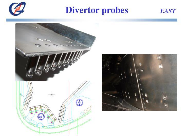 Divertor probes